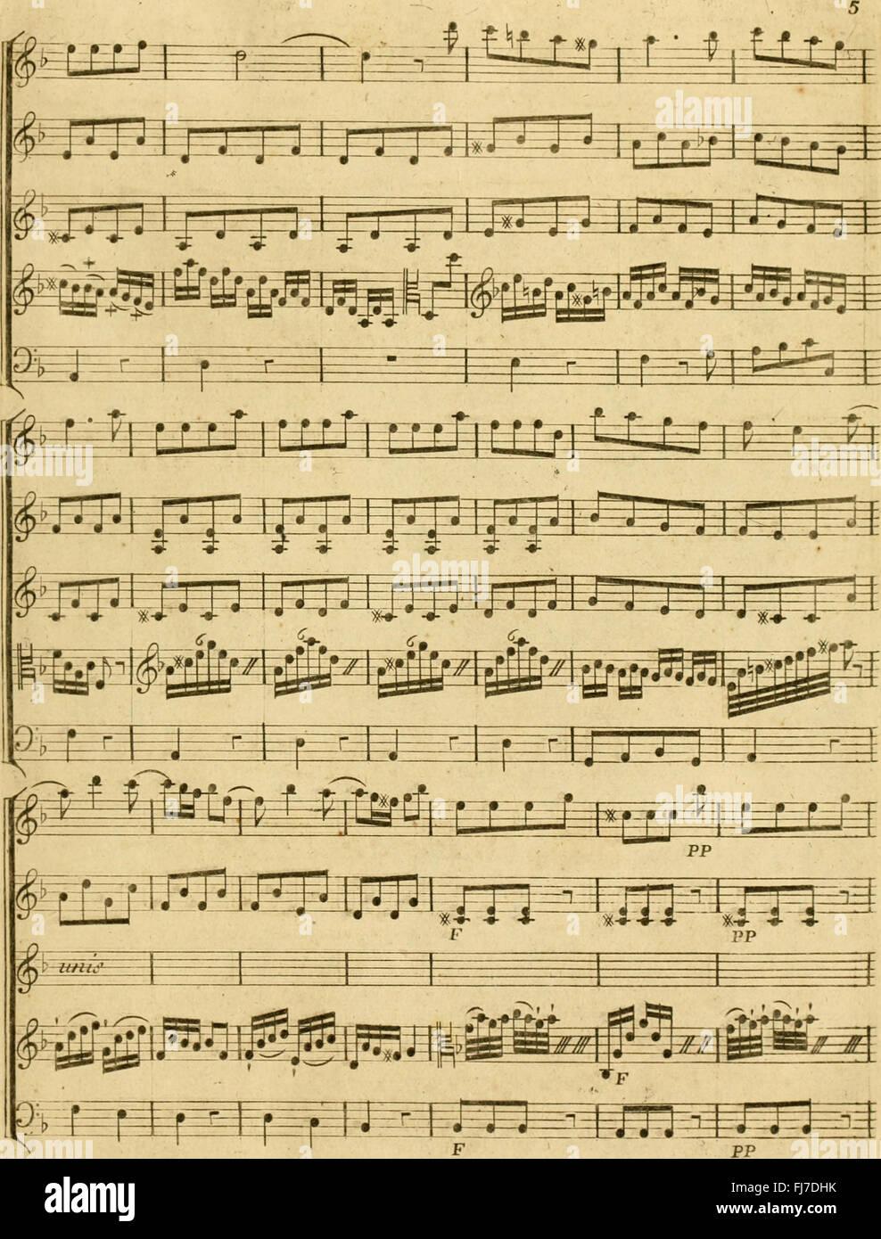 Partition de l'amant jaloux - comC3A9die en trois actes uvre XV (1779)