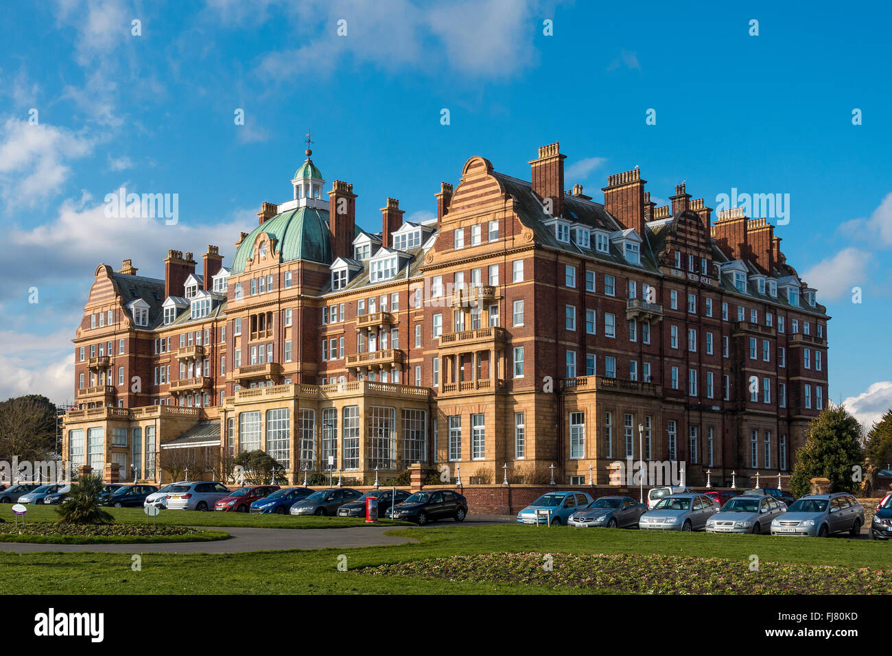 The New Metropole The Lees Folkestone Kent - Stock Image