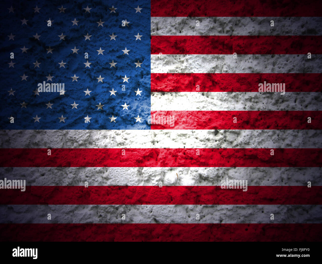 Veterans Day Background American Flag Grunge Style Stock Photo