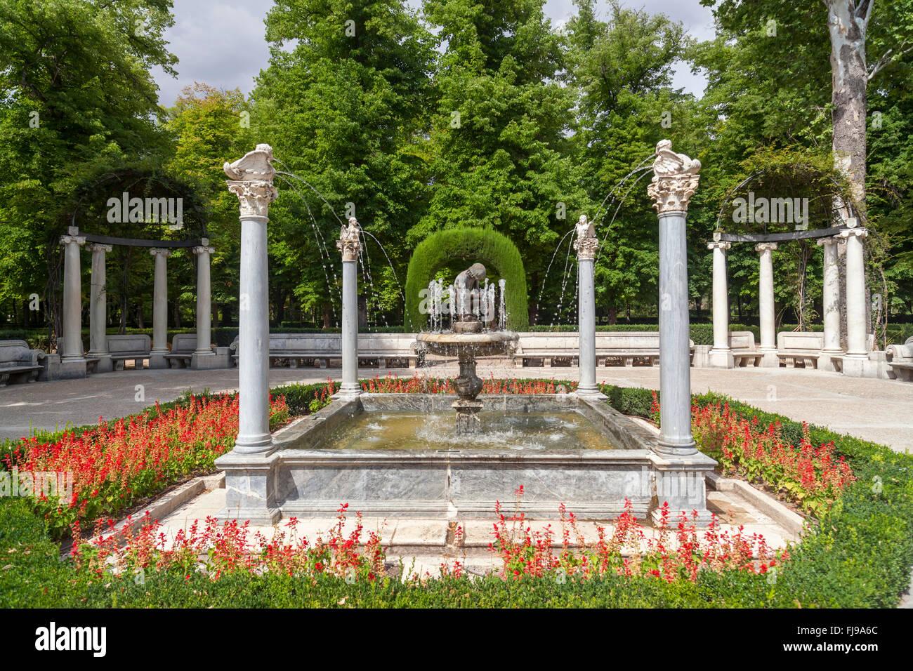 Aranjuez, Comunidad de Madrid, Spain. Jardín de la Isla. Stock Photo