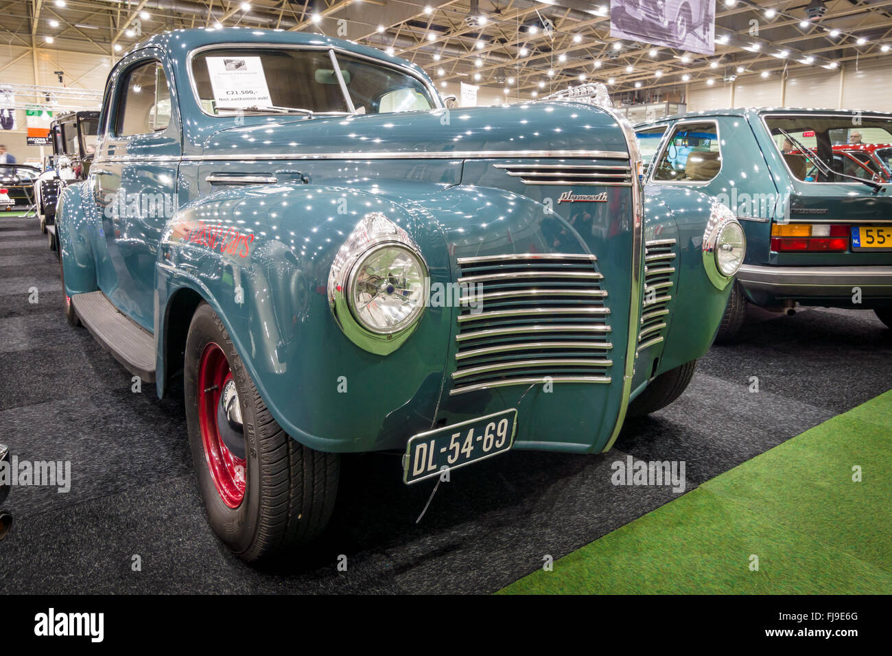 Plymouth Deluxe Stock Photos Images Alamy 1948 Business Coupe Full Size Car P10 1941