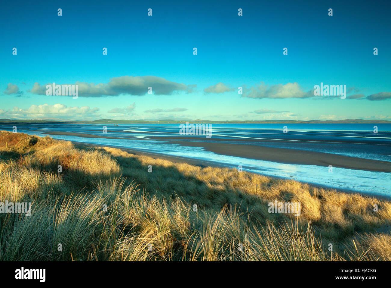 Luce Sands, Sandhead, Galloway - Stock Image