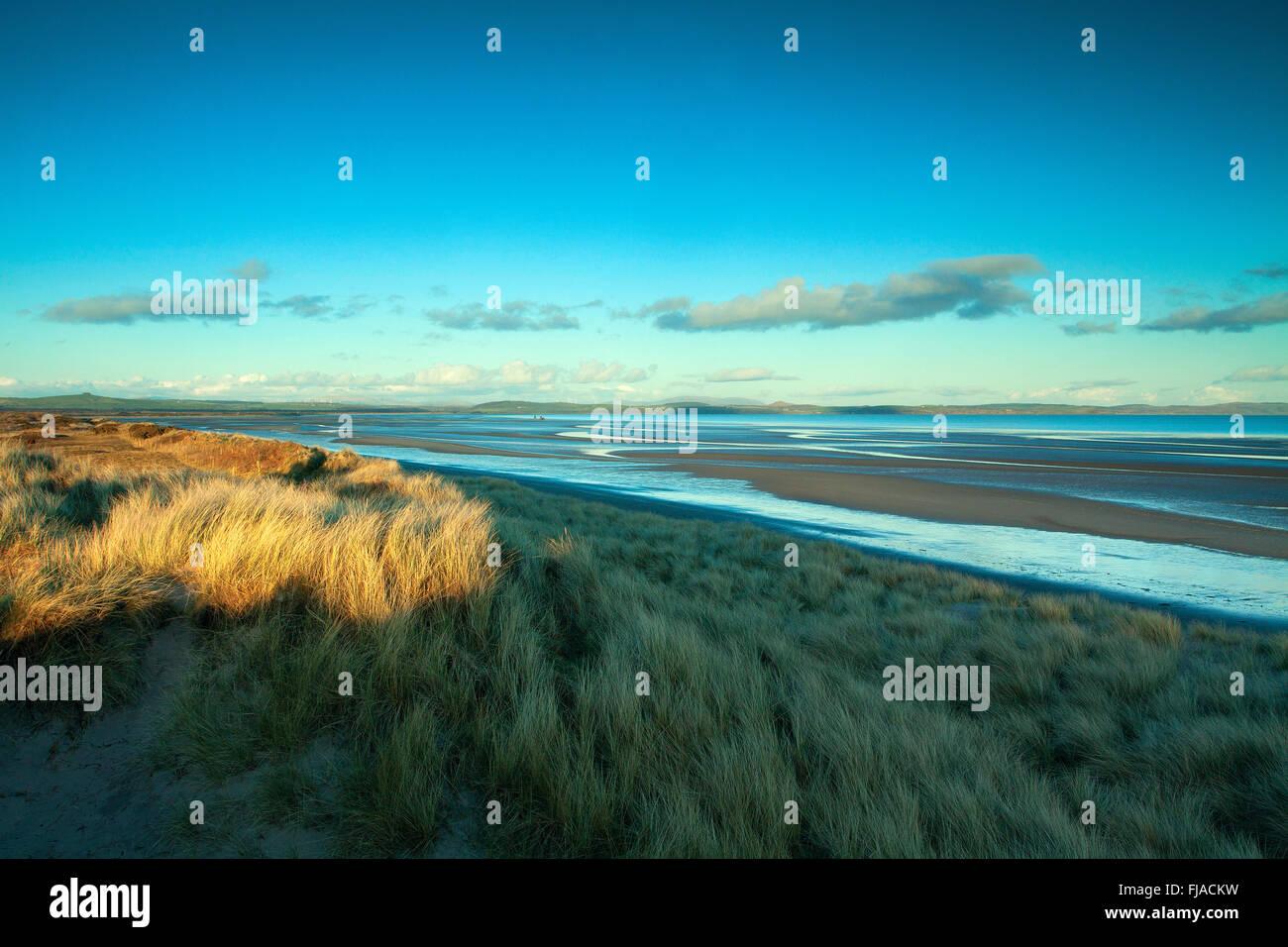 Luce Sands. Sandhead, Galloway - Stock Image