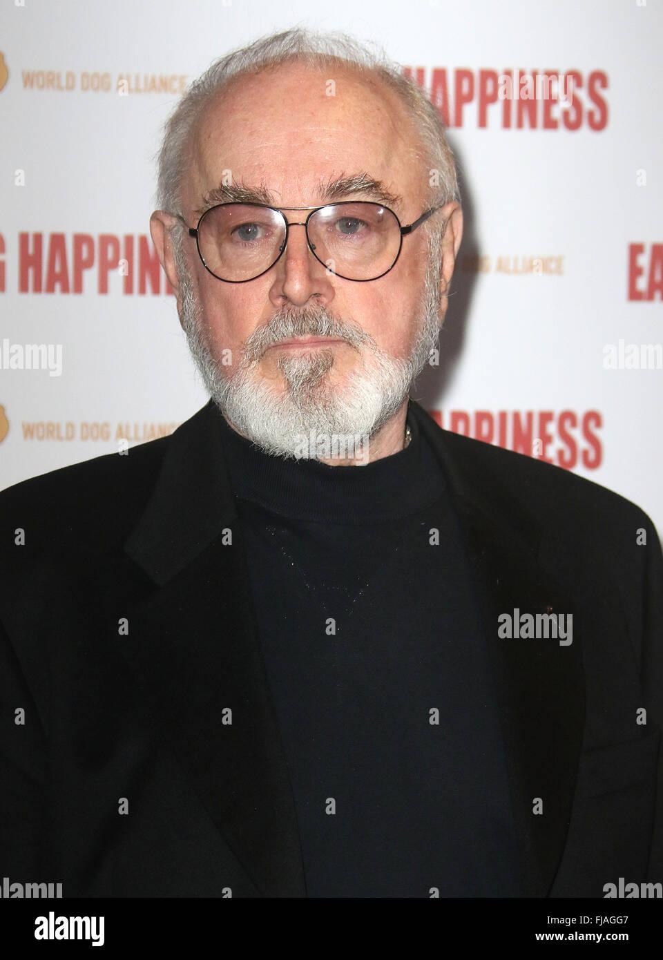 Jan 25, 2016 - London, England, UK - Peter Egan attending 'Eating Happiness' - VIP screening at the Mondrian - Stock Image