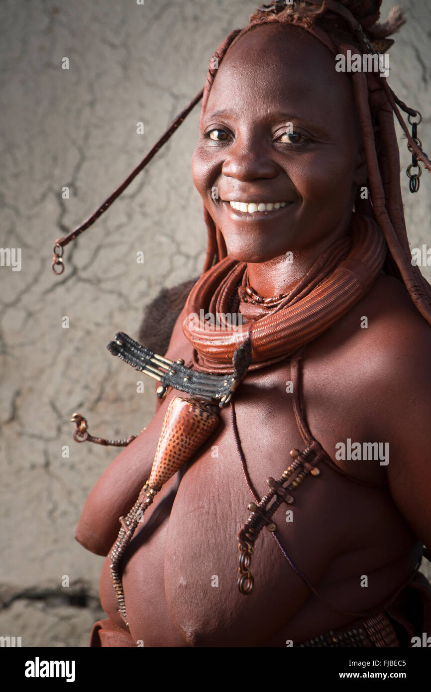 Himba woman - Stock Image