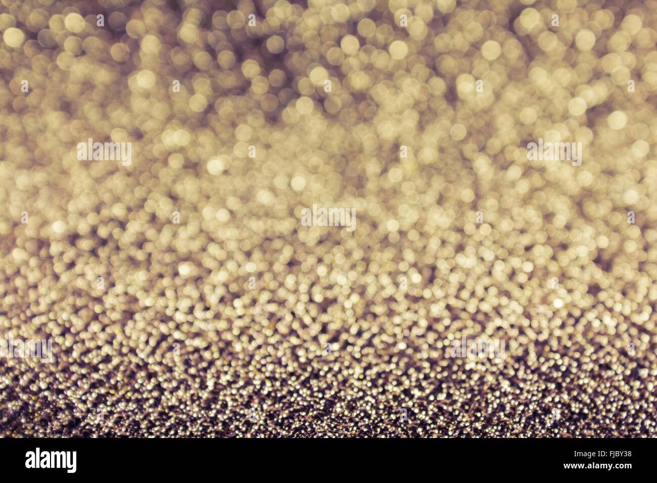 Sparkle retro colour glow bokeh abstract dreamy background - Stock Image