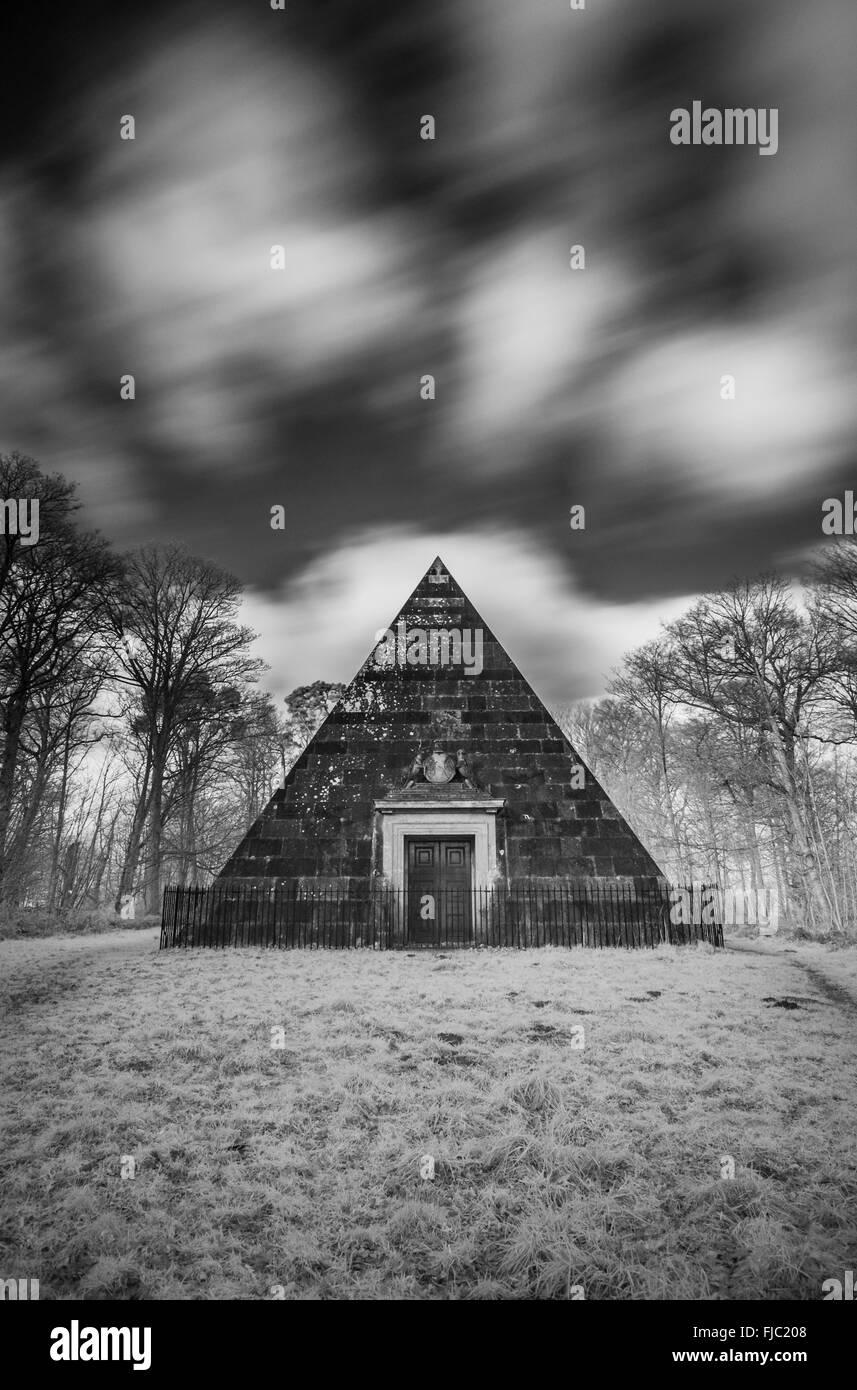 The Mausoleum at Blicking - Stock Image