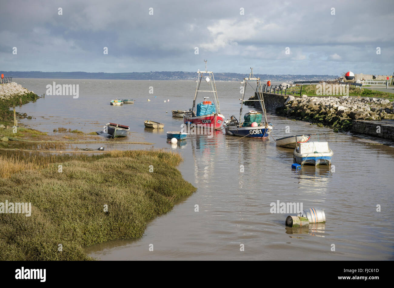Greenfield Dock - Stock Image