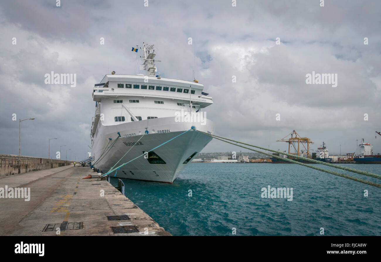 Cruise Ship Barbados Stock Photos Amp Cruise Ship Barbados