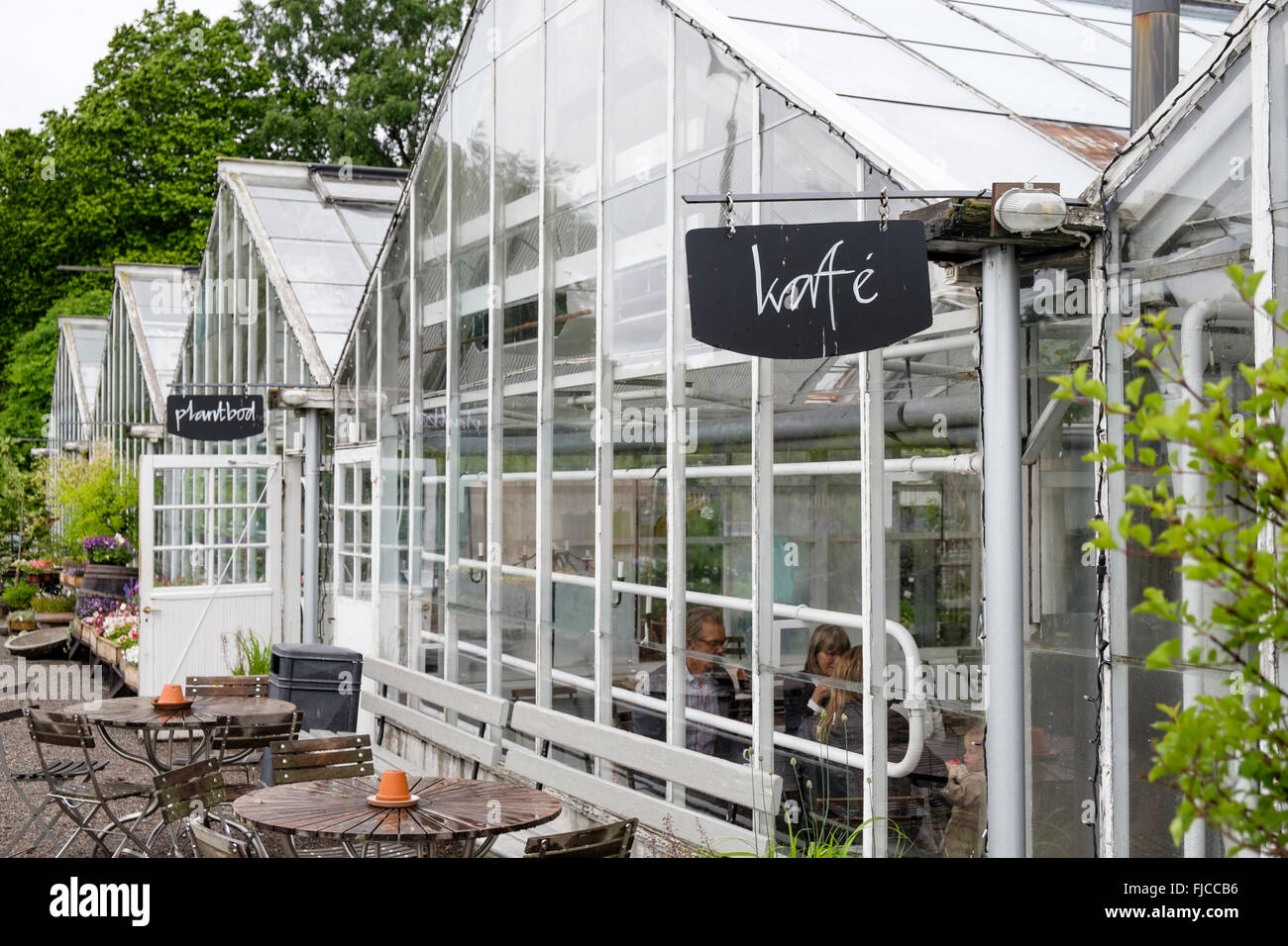 Greenhouse Cafe High Resolution Stock Photography And Images Alamy