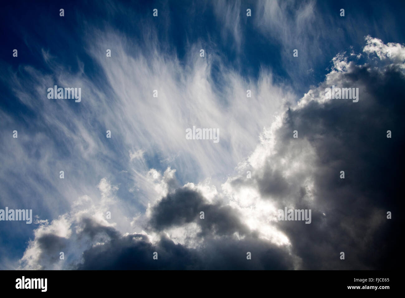 Storm Clouds - Stock Image