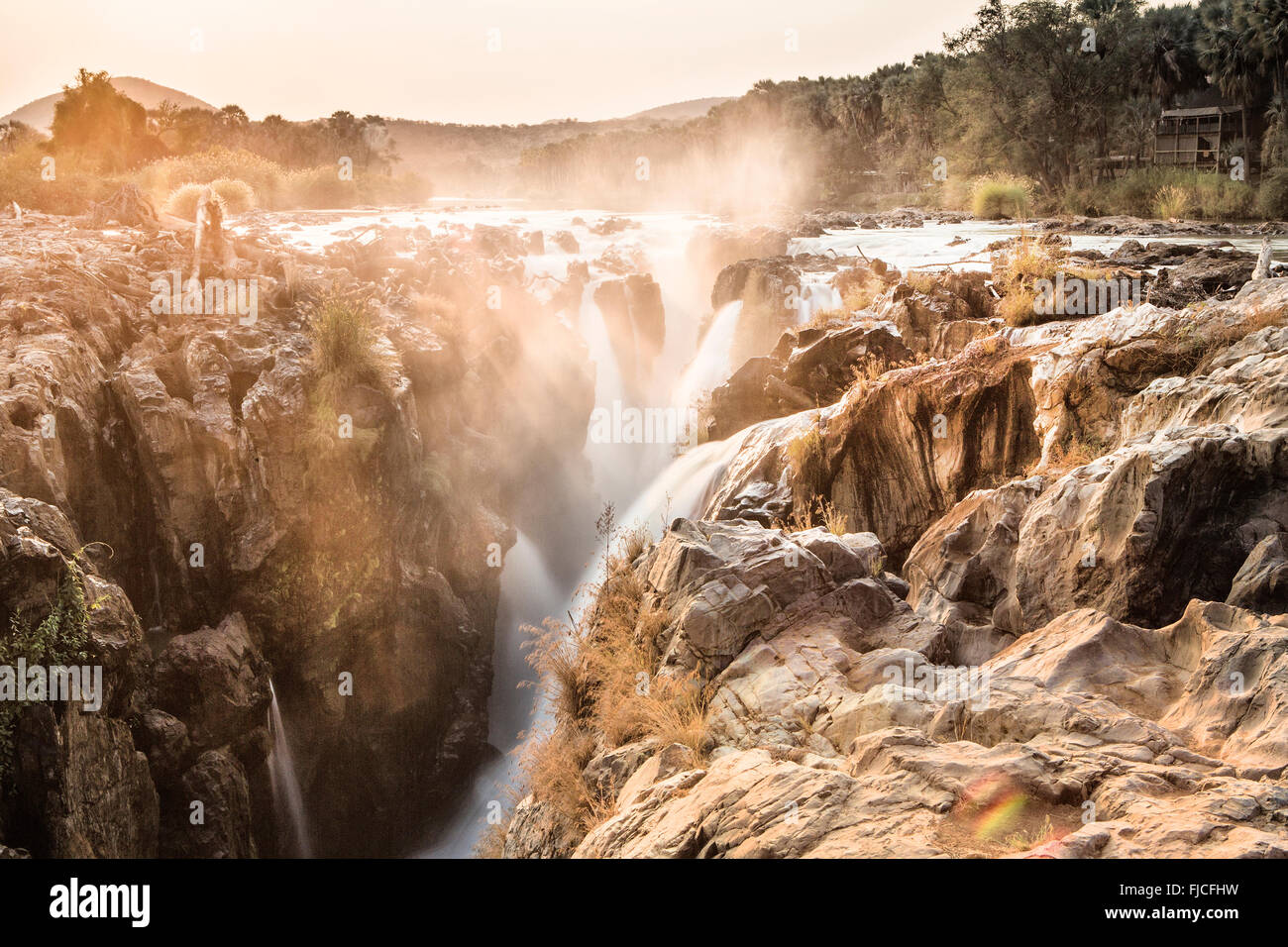 Epupa Waterfall - Stock Image