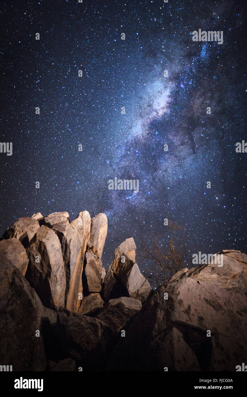 Night scene. - Stock Image