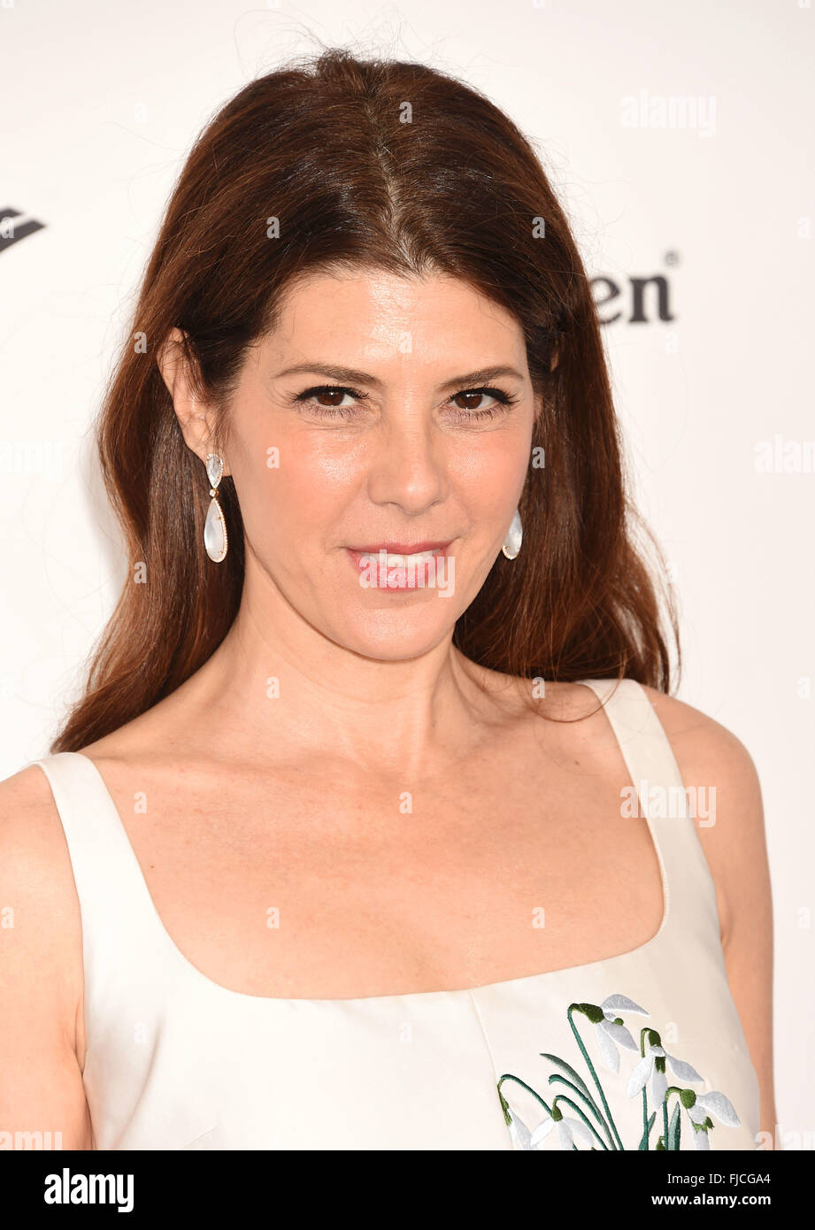 MARISA TOMEI US film actress at he Oscars in February 2016. Photo Jeffrey Mayer - Stock Image