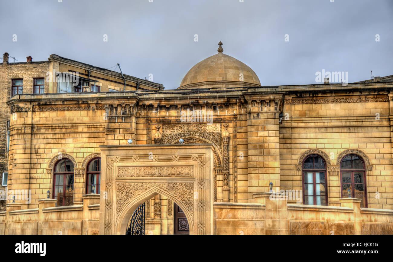Juma Mosque in the old town of Baku, Azerbaijan - Stock Image