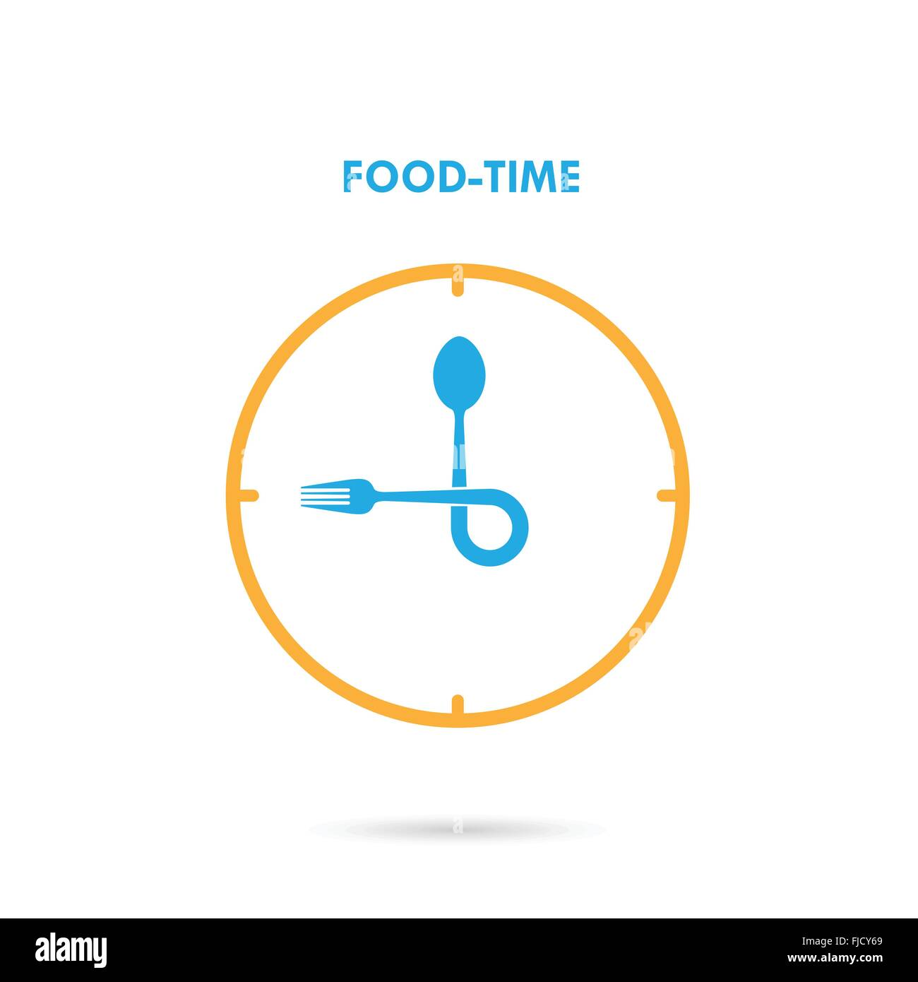 Food TimeLunch Time IconEating ConceptFork And Spoon SignCan Be Used For Layout Banner Web Design