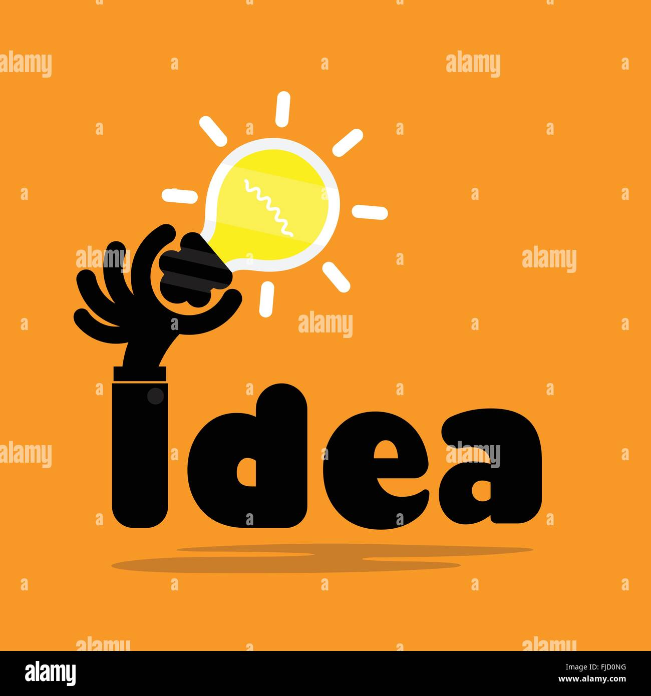 Creative Bulb Light Ideaflat DesignConcept Of Ideas Inspiration Innovation Invention Effective Thinking Knowledge