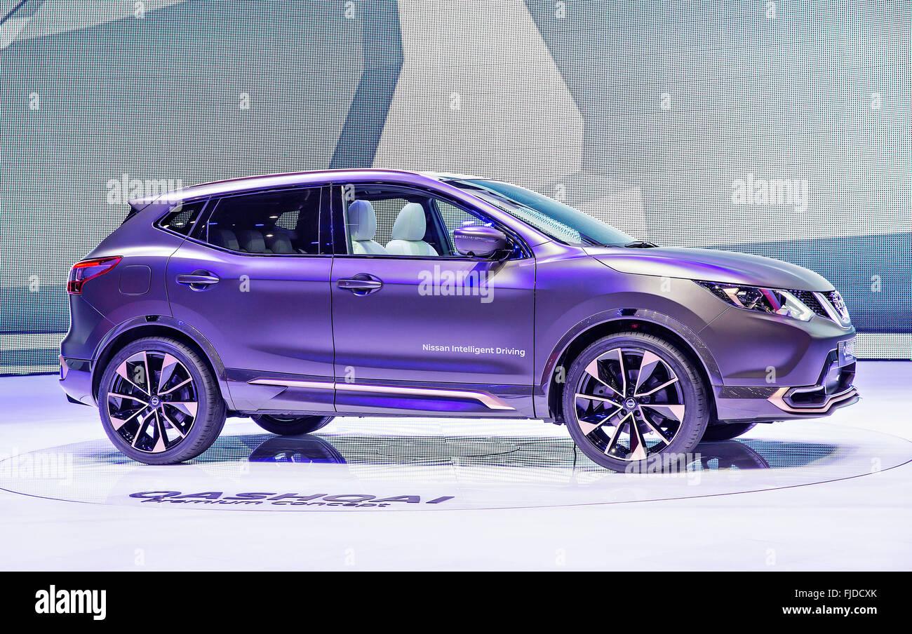 Premium Concept Nissan Qashqai - Stock Image