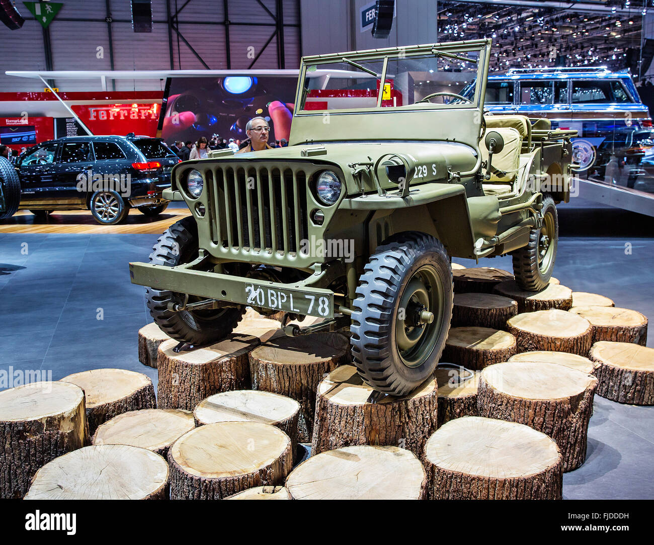 Willys Stock Photos Images Alamy 1941 To 1952 Jeep Image