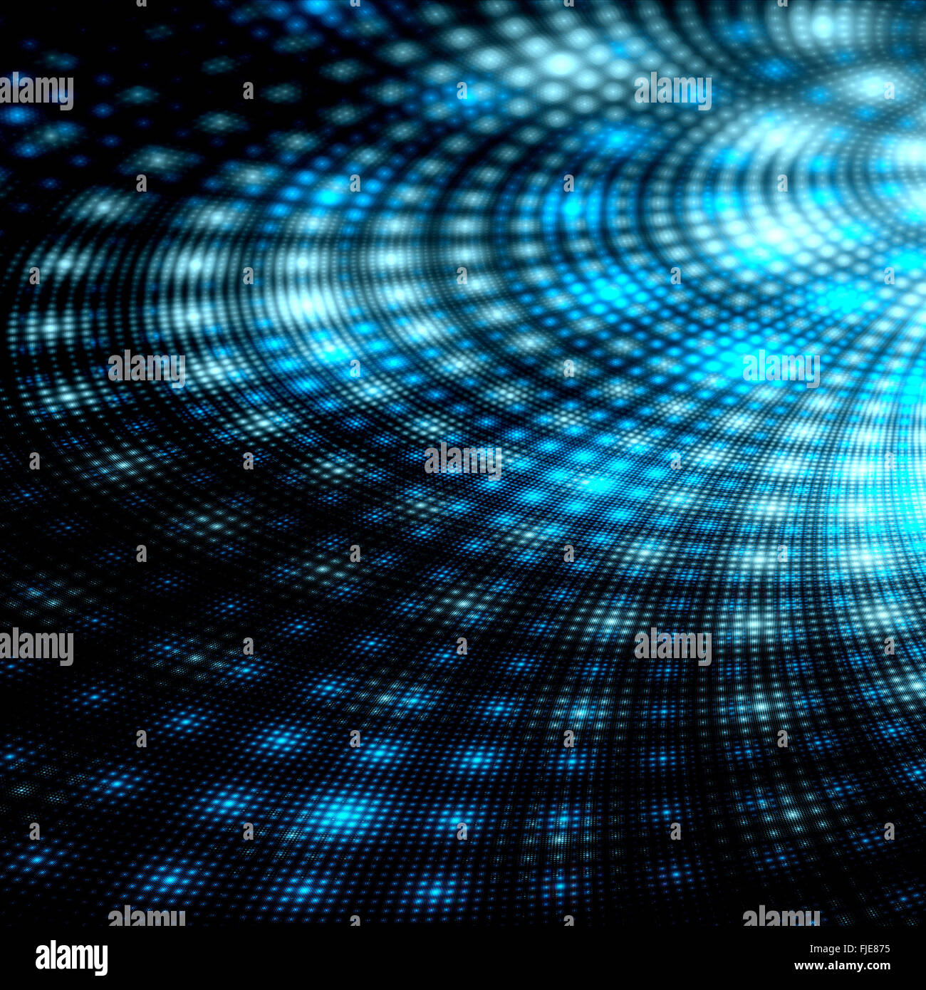 Technological singularity detail, computer generated abstract background - Stock Image