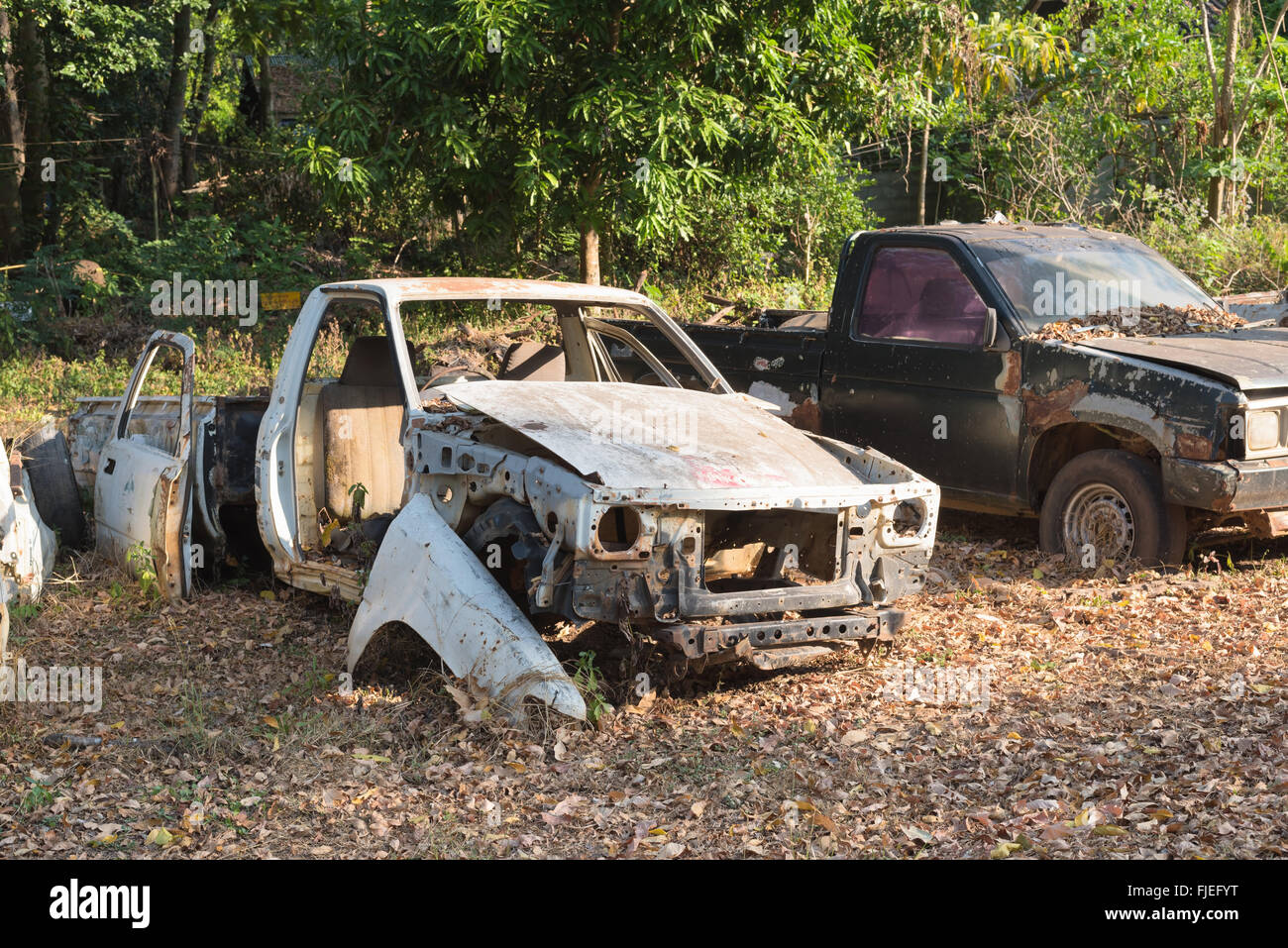 Old Rusty Wrecked Car Stock Photos & Old Rusty Wrecked Car Stock ...
