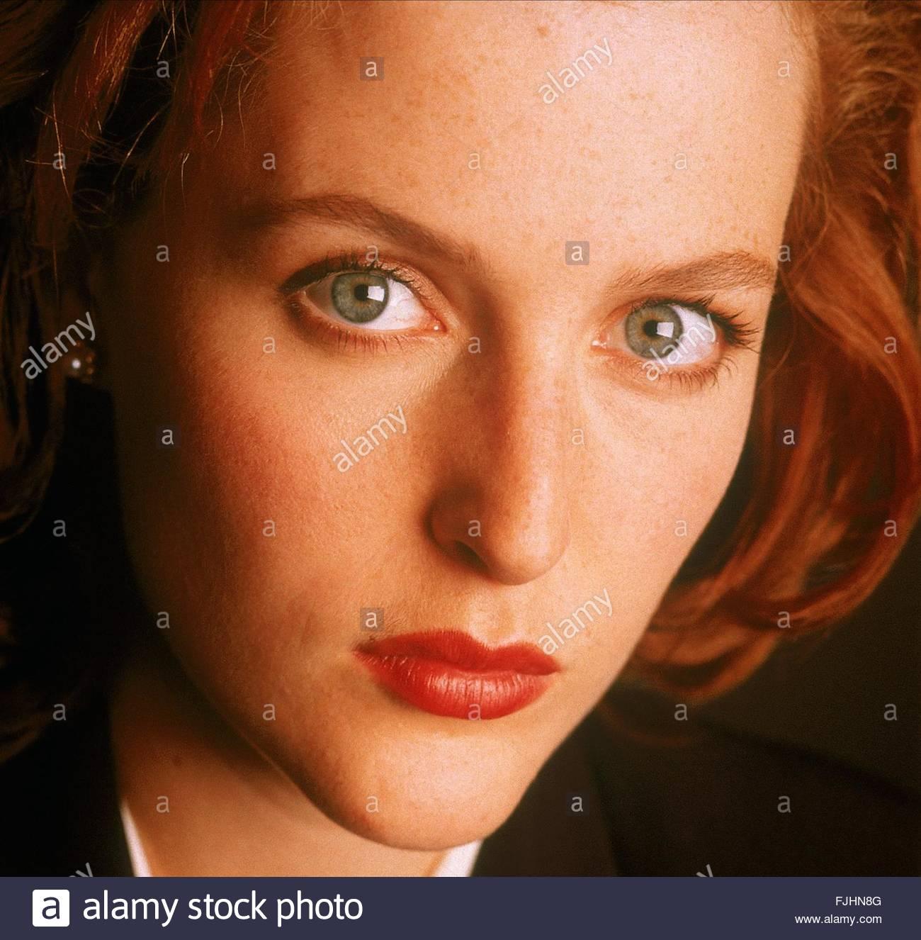 GILLIAN ANDERSON THE X FILES (1993) - Stock Image