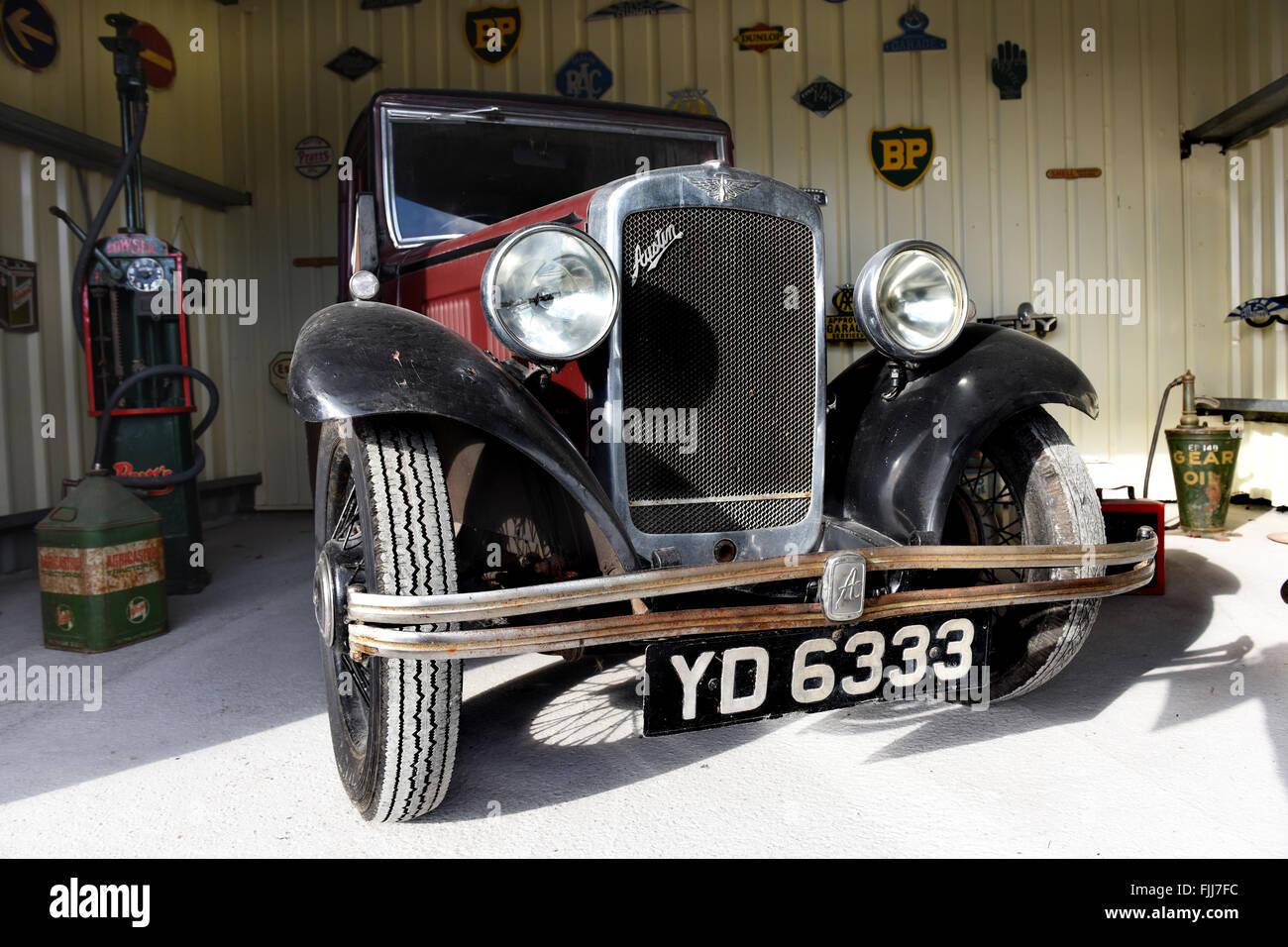 Austin Seven motor car - Stock Image