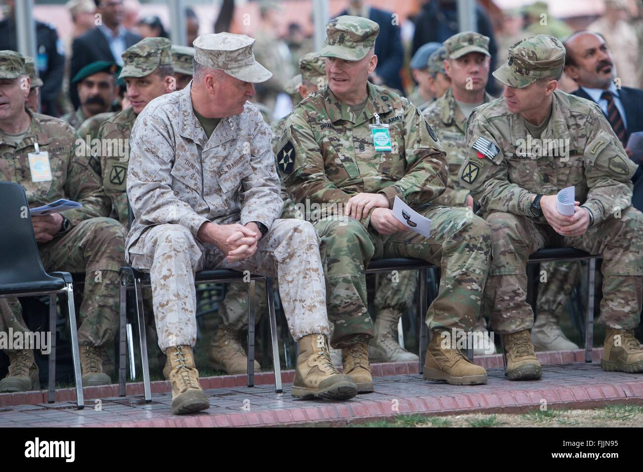 u s joint chiefs chairman general joseph dunford sits with command