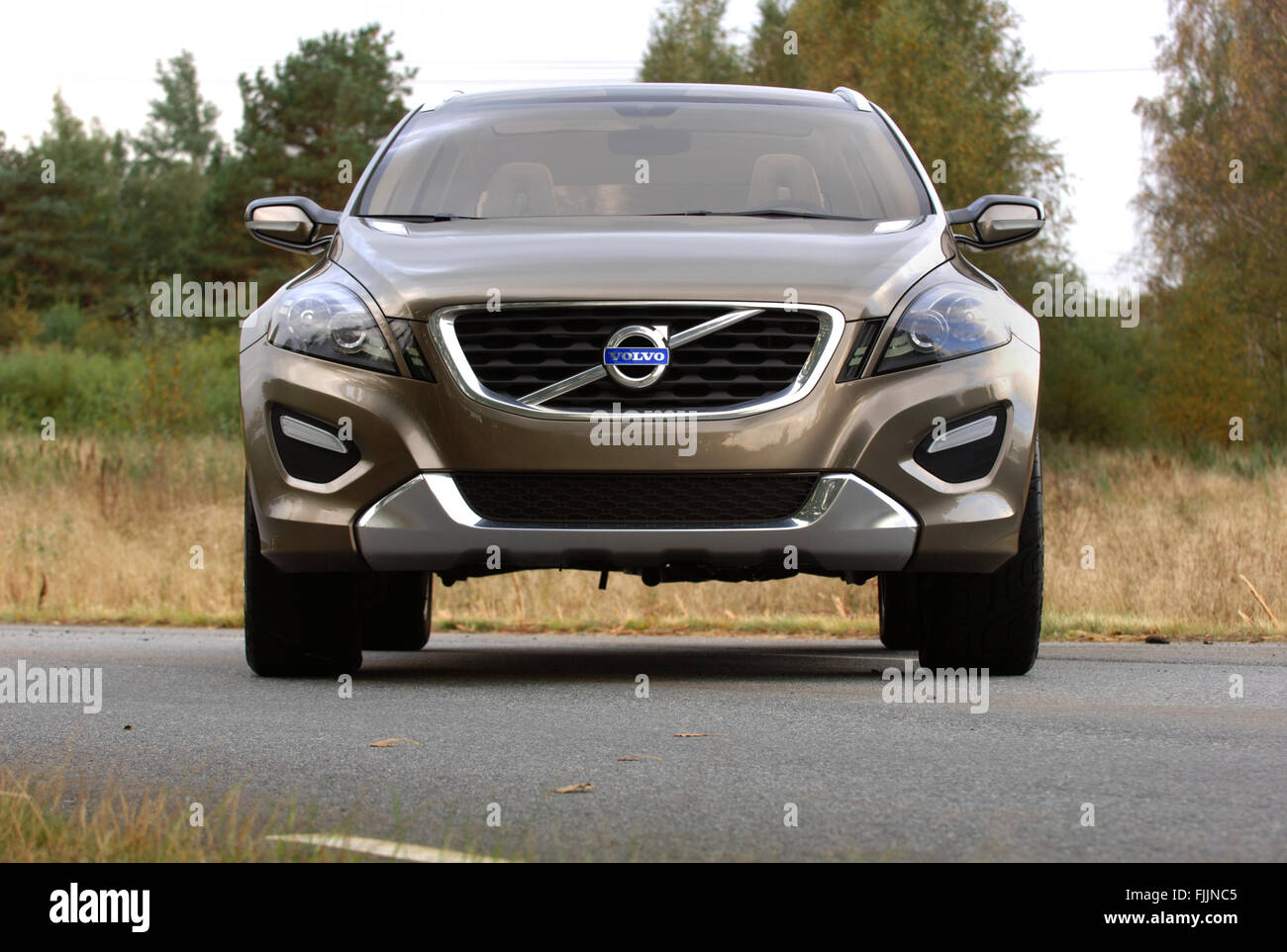 Volvo Xc Concept Car Which Became The Xc60 Shot On A Test