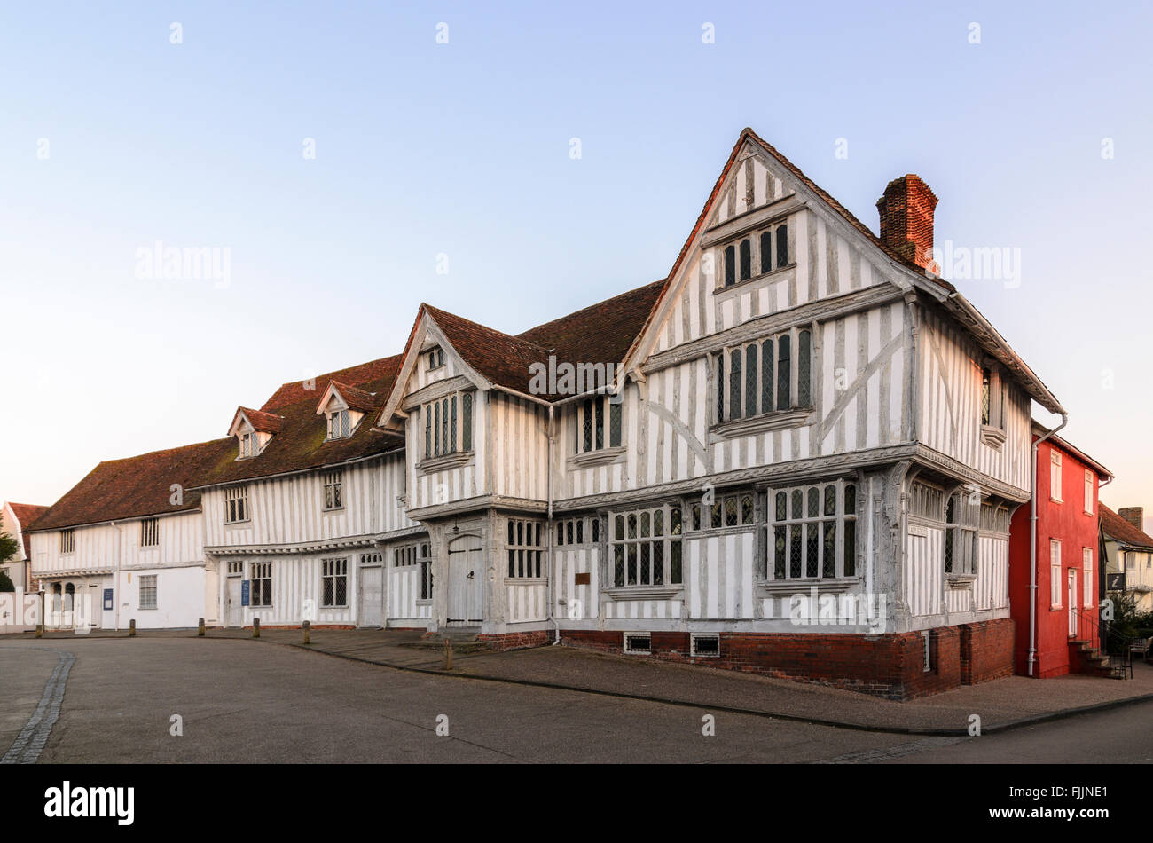 Guildhall of Corpus Christi, Lavenham, Suffolk, England, UK.Stock Photo