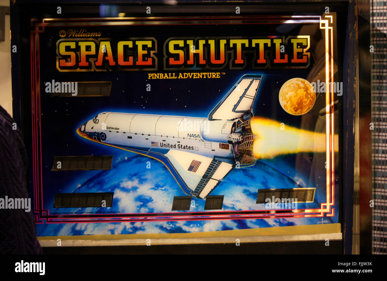 Markenname: 'Space Shuttle', Berlin. - Stock Image