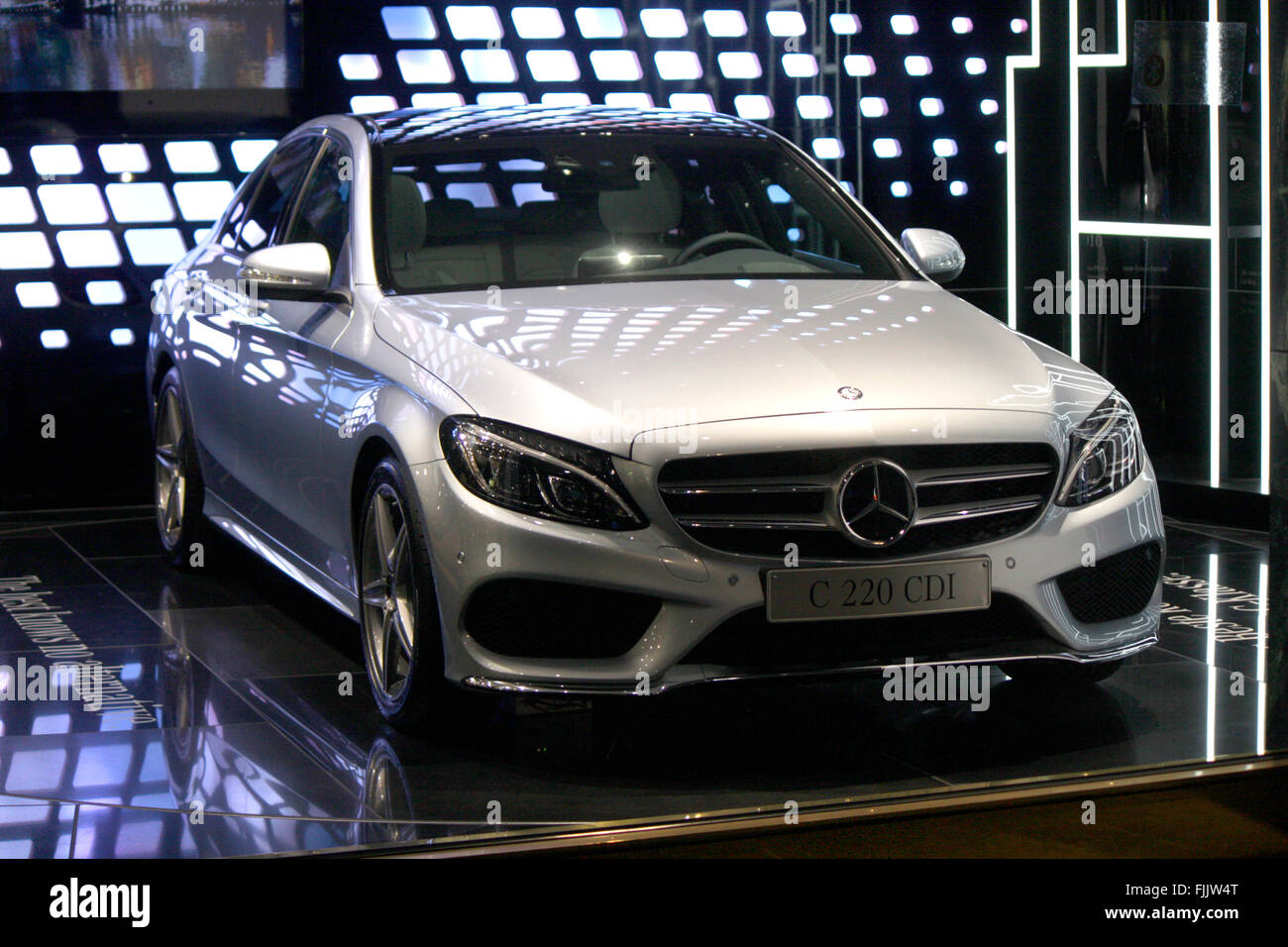 Markenname Mercedes Benz C Klasse Berlin Stock Photo 97530520