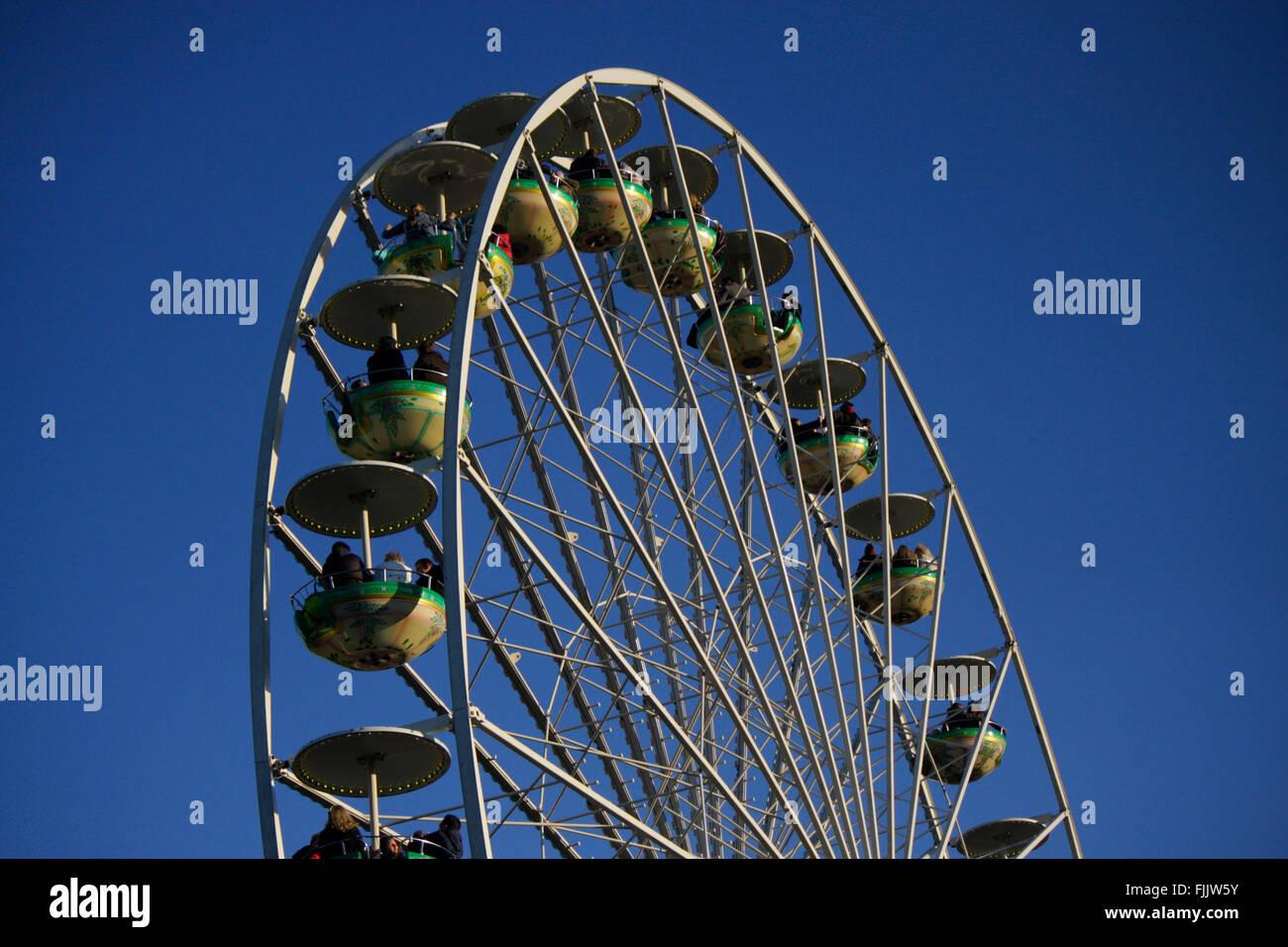 Riesenrad, Berlin-Tiergarten. - Stock Image