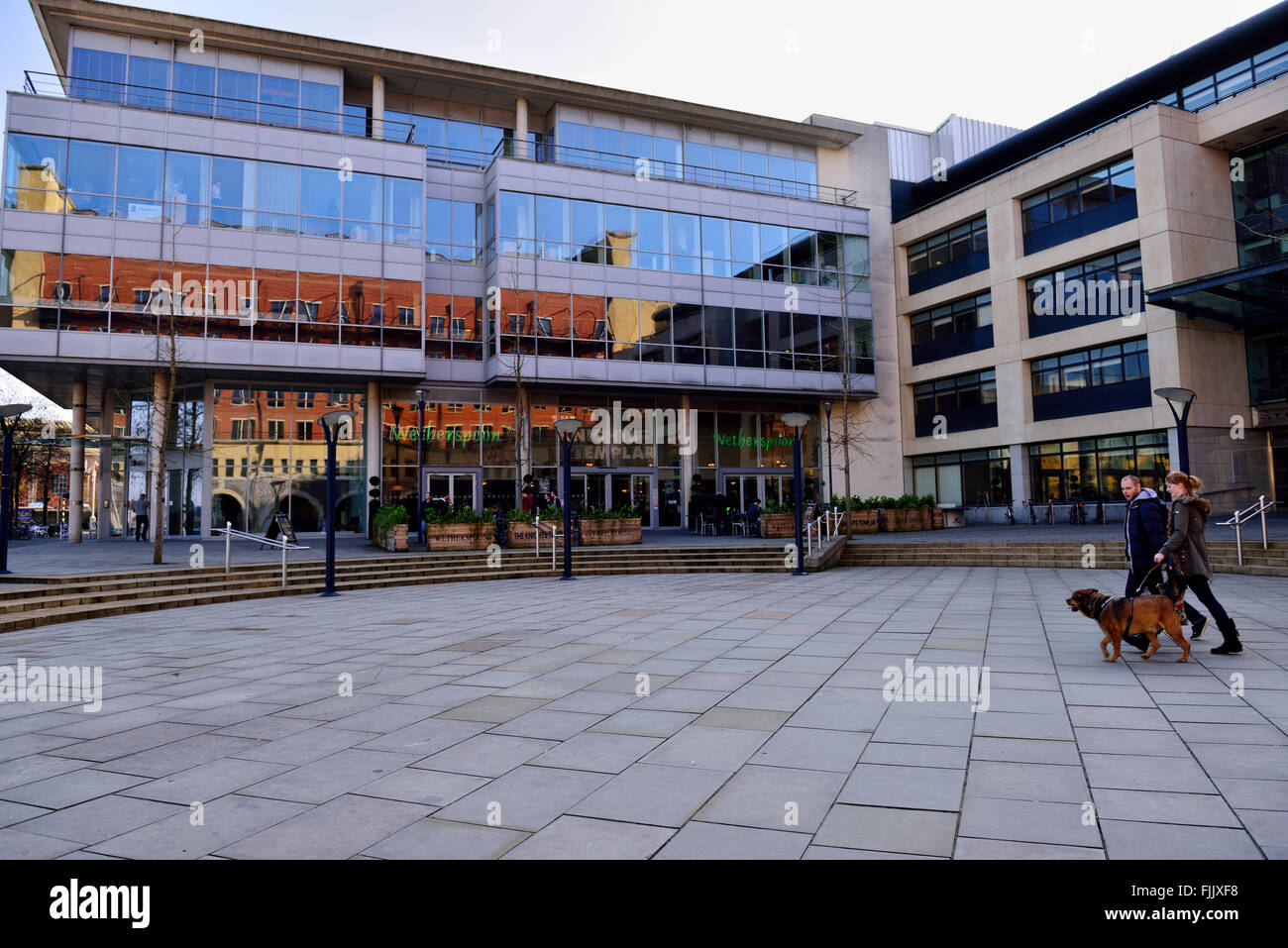 Temple Quay House, Knights Templer and Wetherspoon free house, Bristol - Stock Image