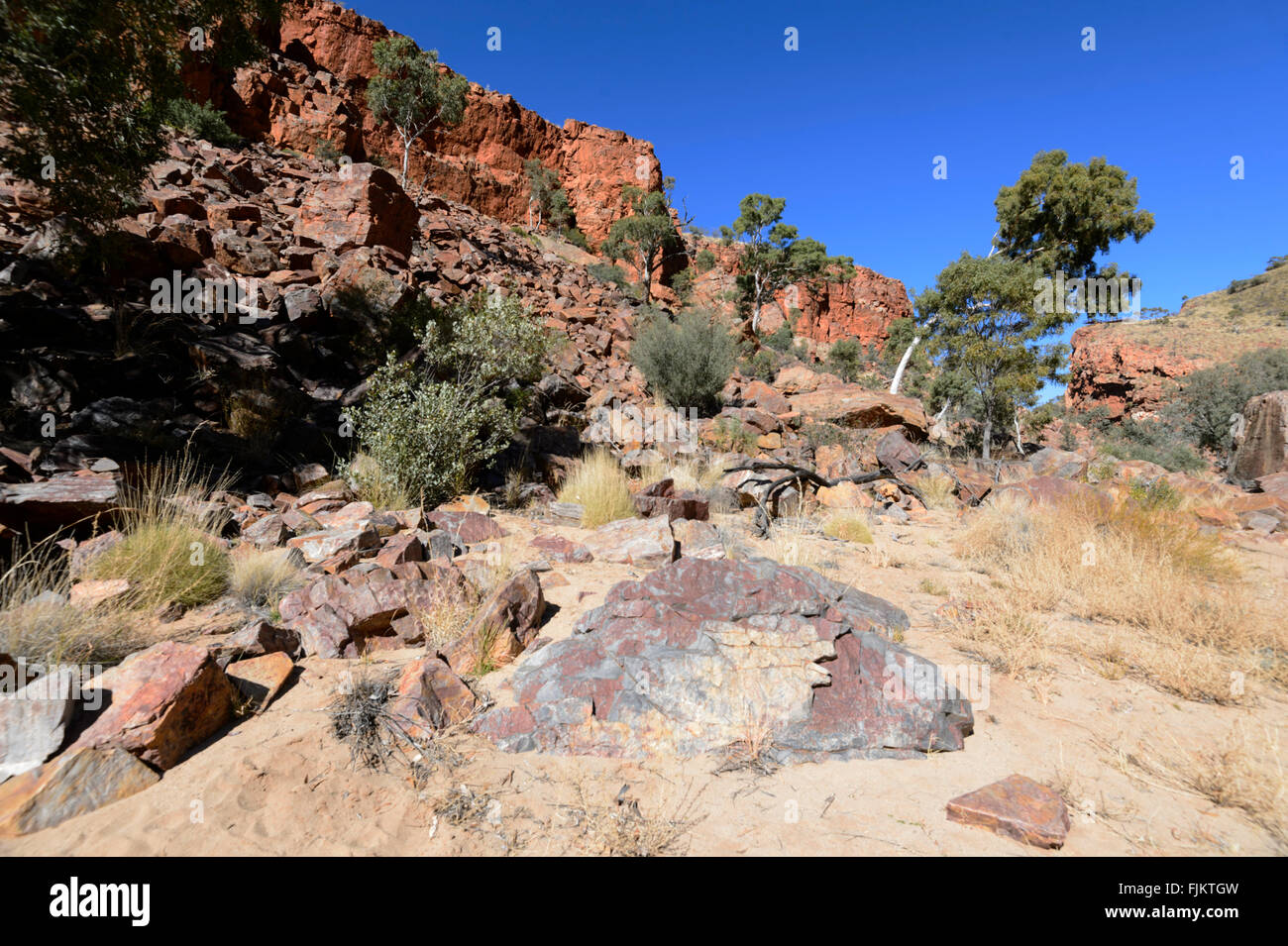 Ormiston Gorge, West MacDonnell Ranges, Northern Territory, Australia - Stock Image