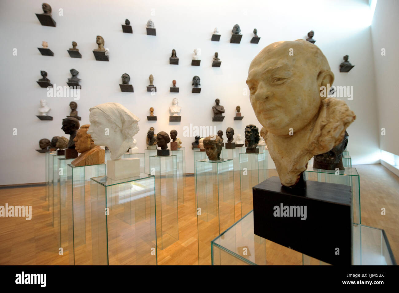 geography / travel, Estonia, Tallinn, museum / museums, KUMU, interior view, Additional-Rights-Clearance-Info-Not - Stock Image