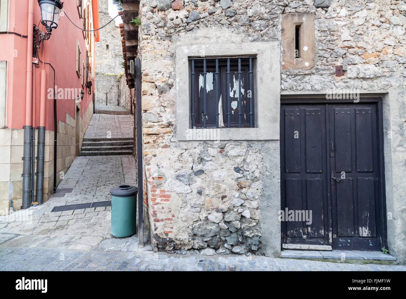 Puebla Vieja.Laredo,Cantabria,Spain - Stock Image