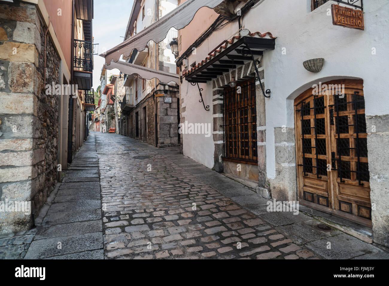 Puebla Vieja, Laredo,Cantabria,Spain - Stock Image