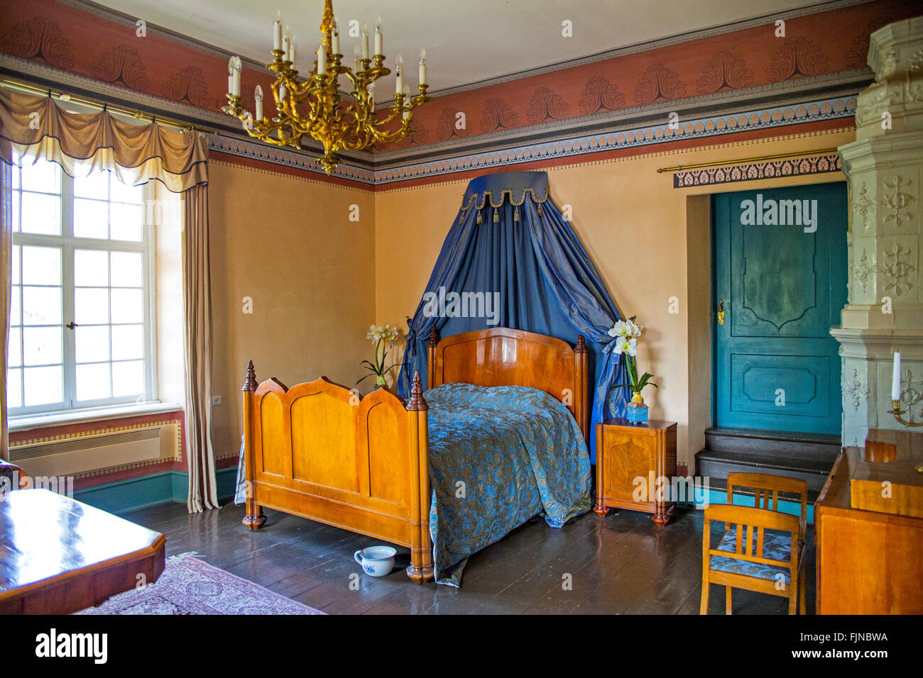 geography / travel, Estonia, Palmse manor, German Baltic manor, Additional-Rights-Clearance-Info-Not-Available Stock Photo