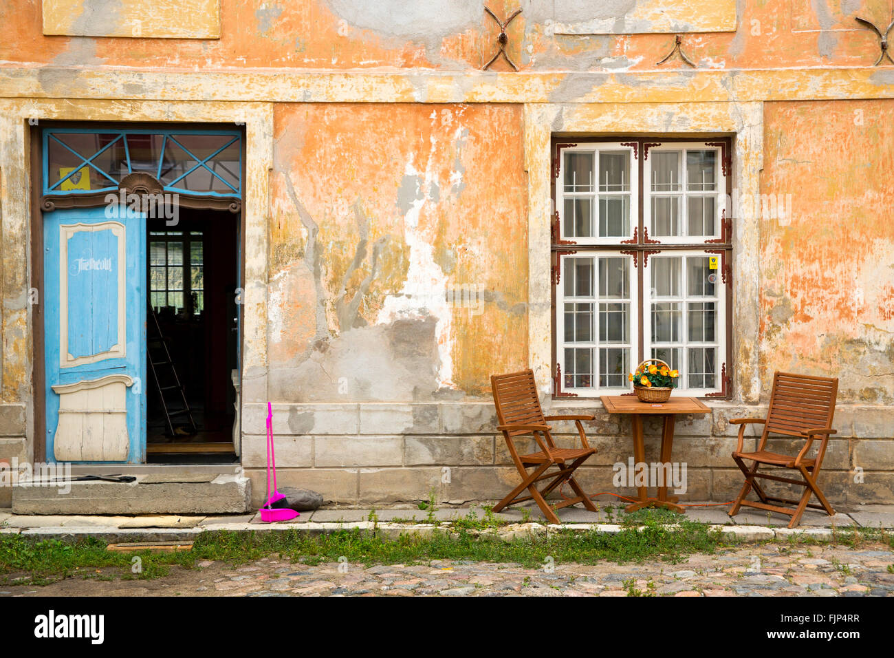geography / travel, Estonia, Tallinn, old town, alley, Additional-Rights-Clearance-Info-Not-Available - Stock Image