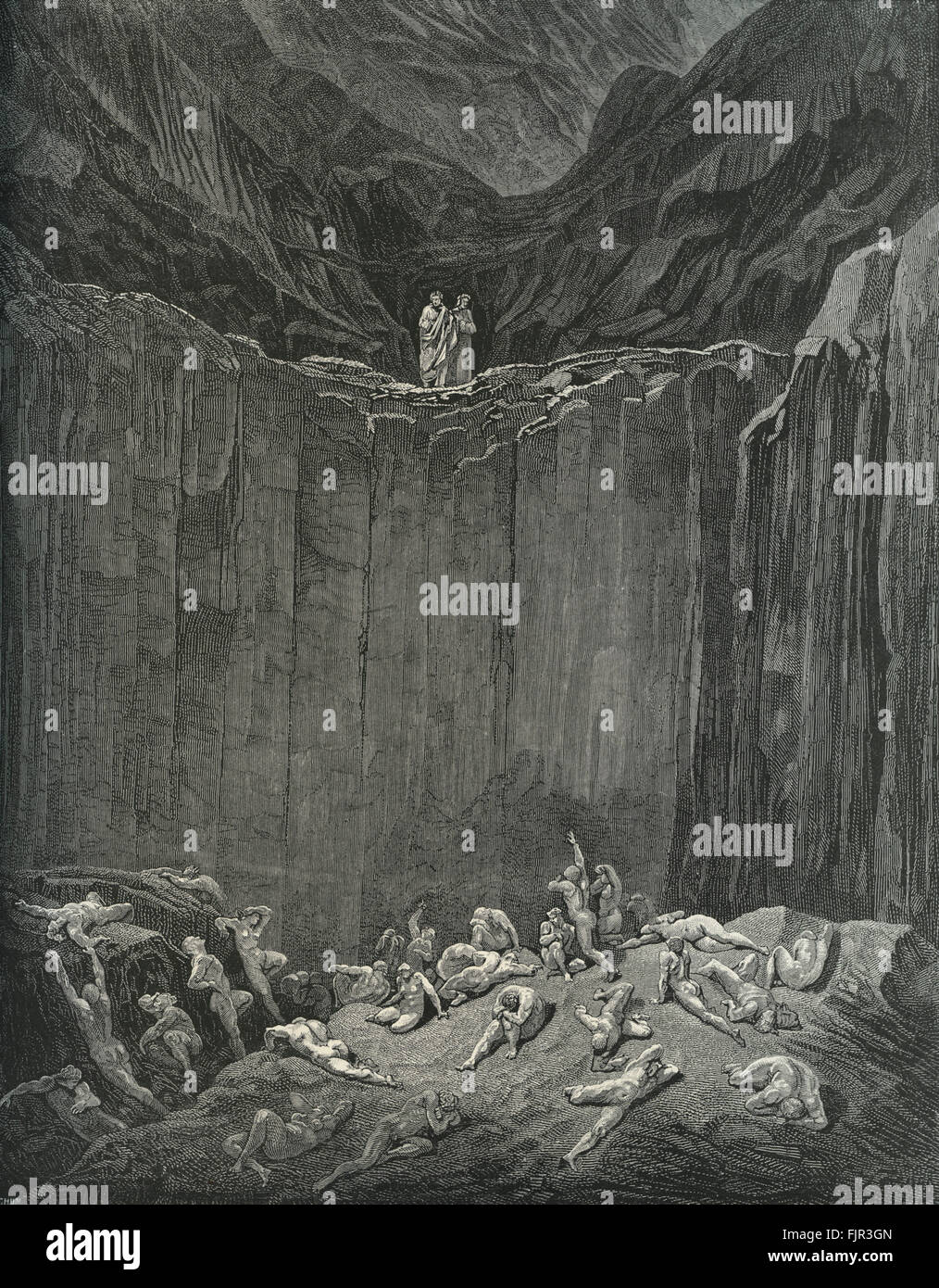 an outline of the sections of hell in dante alighieris inferno Dante's organization of hell in dante alighieri's long poem inferno, dante imagines that he is being led through hell by the famous roman poet virgil in dante's imagining of hell, there are nine.