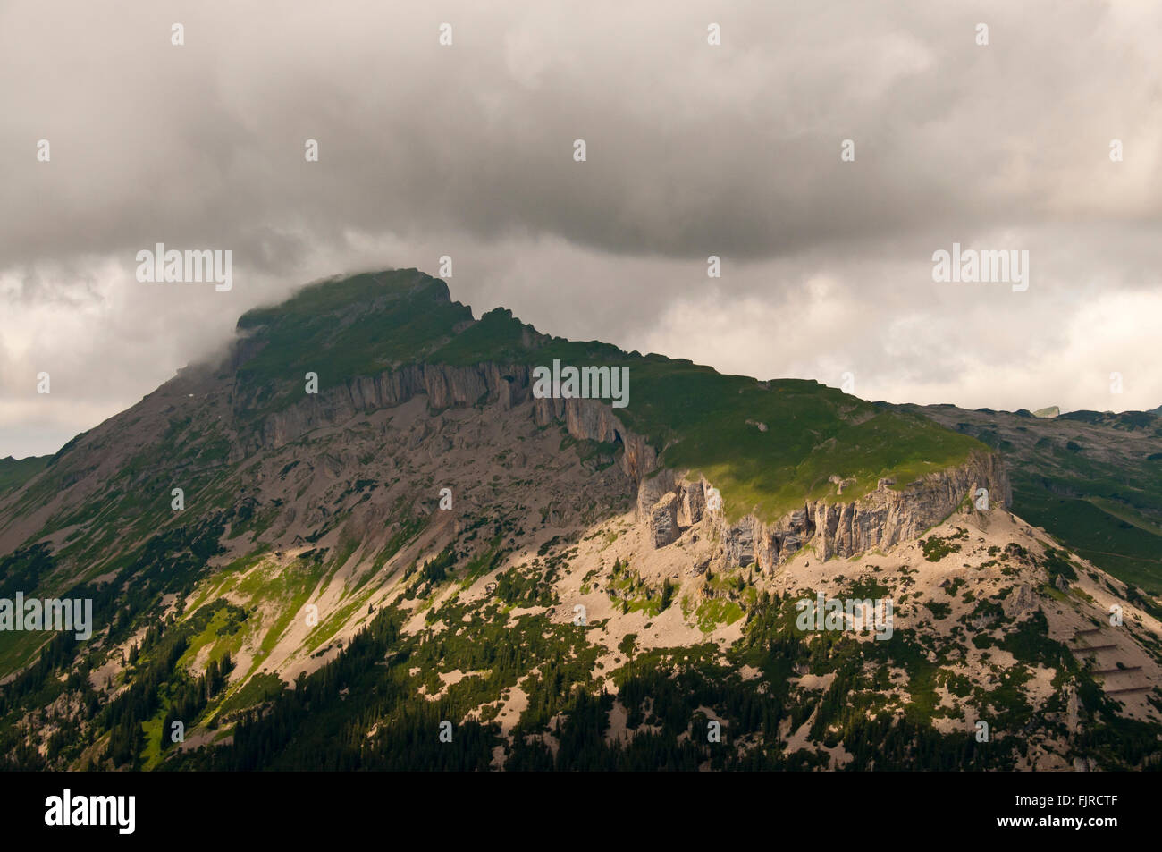 geography / travel, Austria, Vorarlberg, landscapes, view from the Walmendinger Horn to the Hoher Ifen, Additional Stock Photo