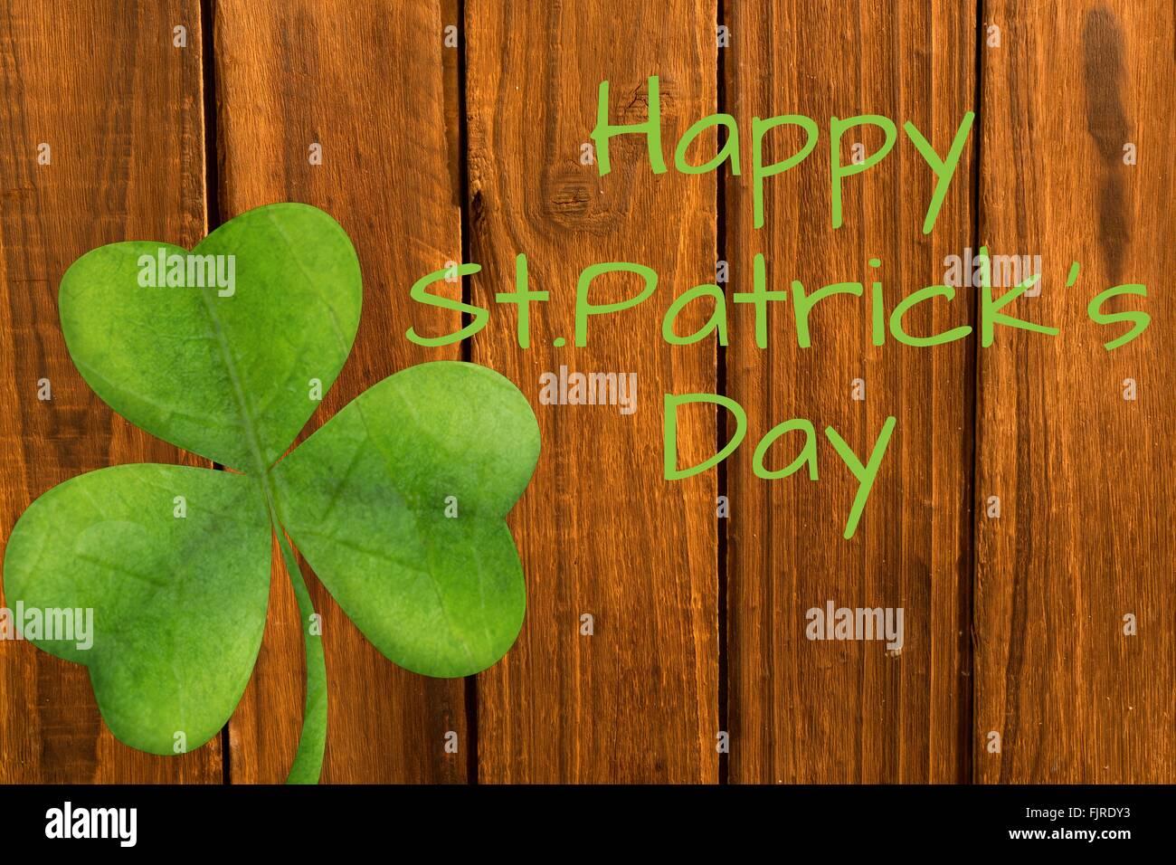 Happy st patricks day - Stock Image