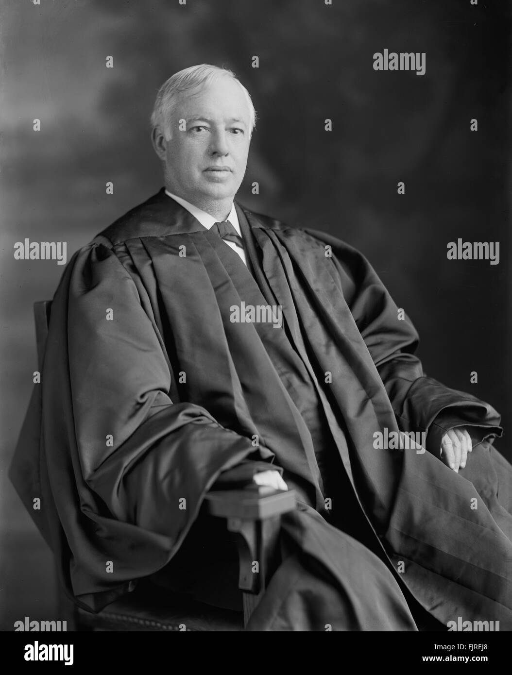 Joseph Rucker Lamar, Associate Justice of the U.S. Supreme Court, Portrait, circa 1915 - Stock Image