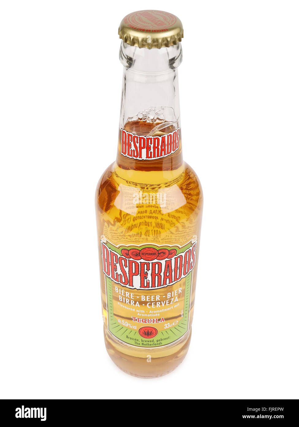 Desperados Lager Flavored With Tequila Is A Popular Beer Produced By Stock Photo Alamy