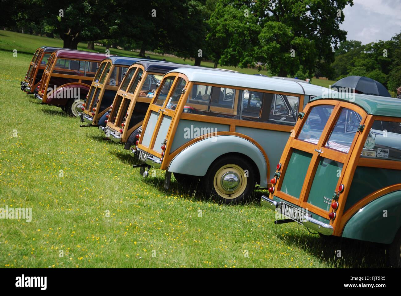 Morris Centenary celebrations at Cornbury Park, Charlbury Oxford, United Kingdom - Stock Image