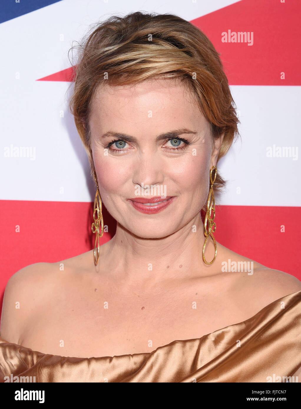 RADHA MITCHELL Australian film actress in March 2016. Photo Jeffrey Mayer - Stock Image