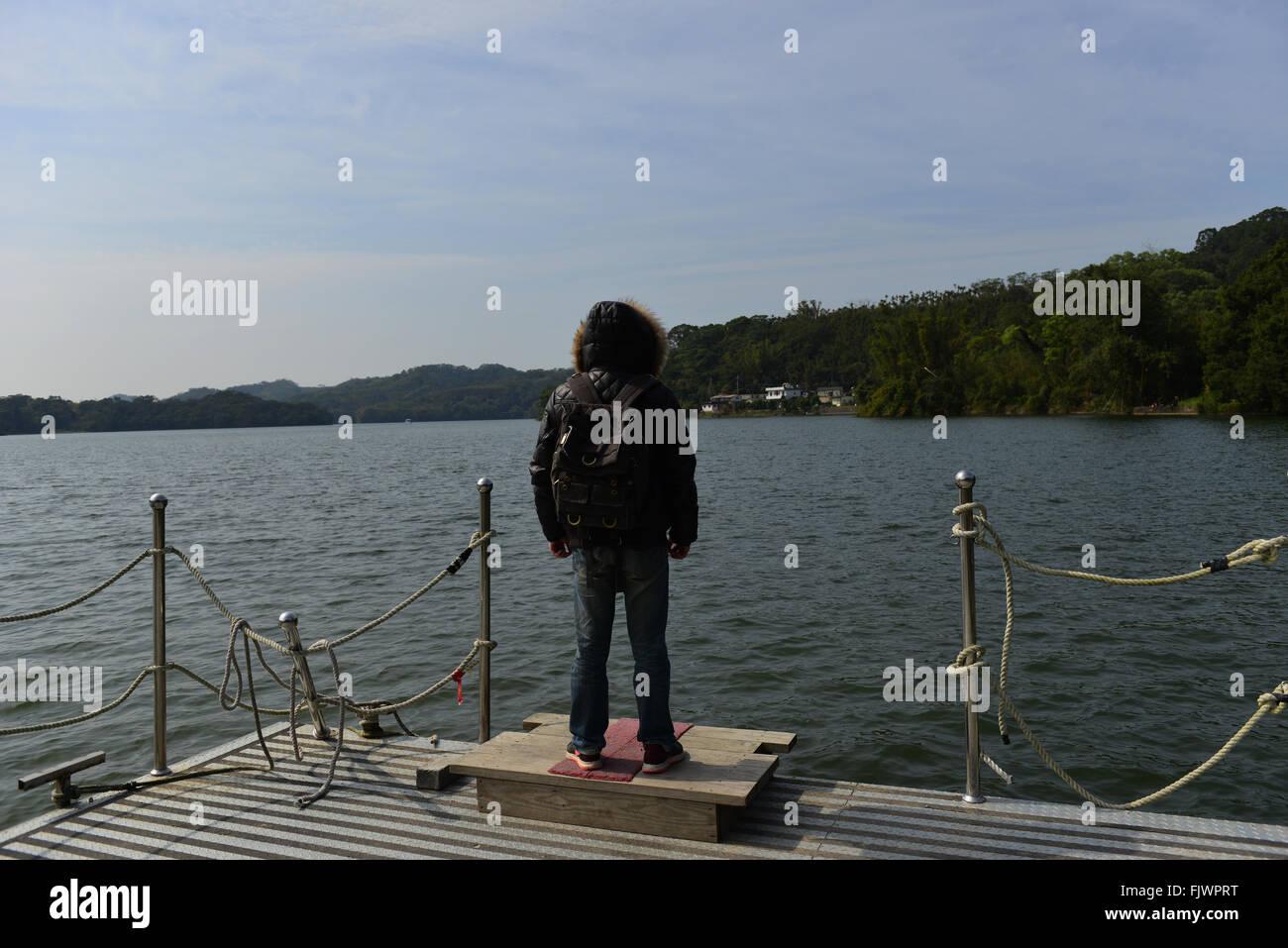 waiting - Stock Image