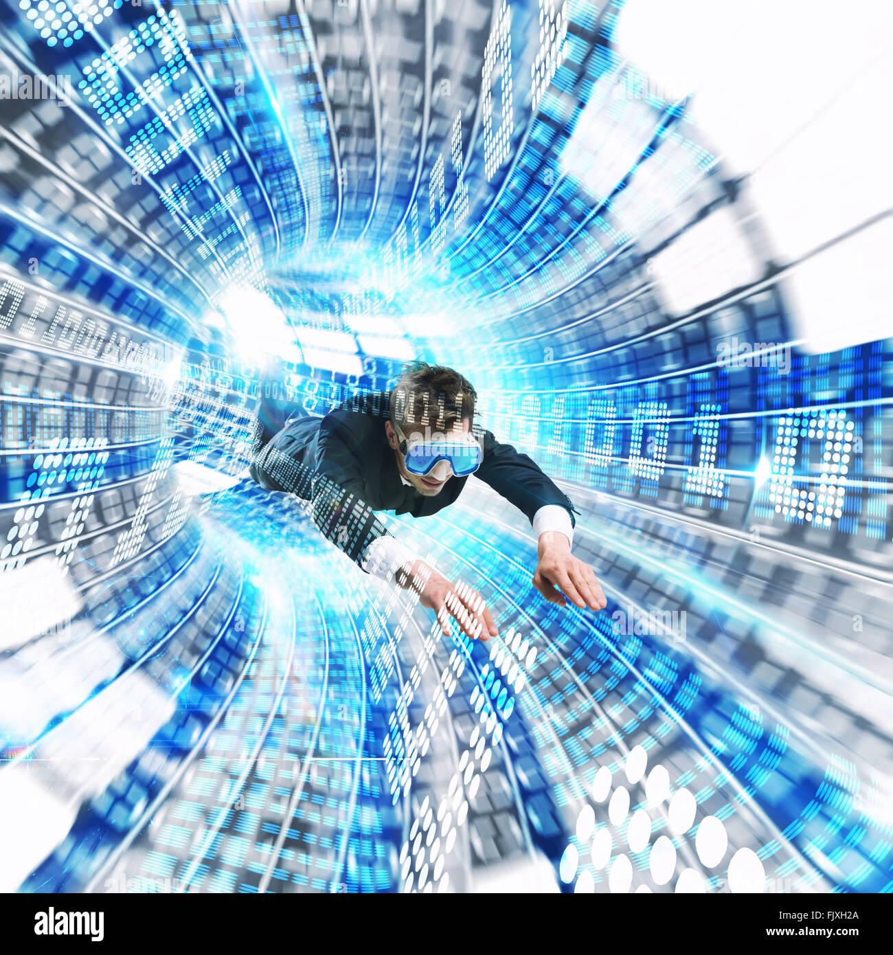 Virtual reality - Stock Image