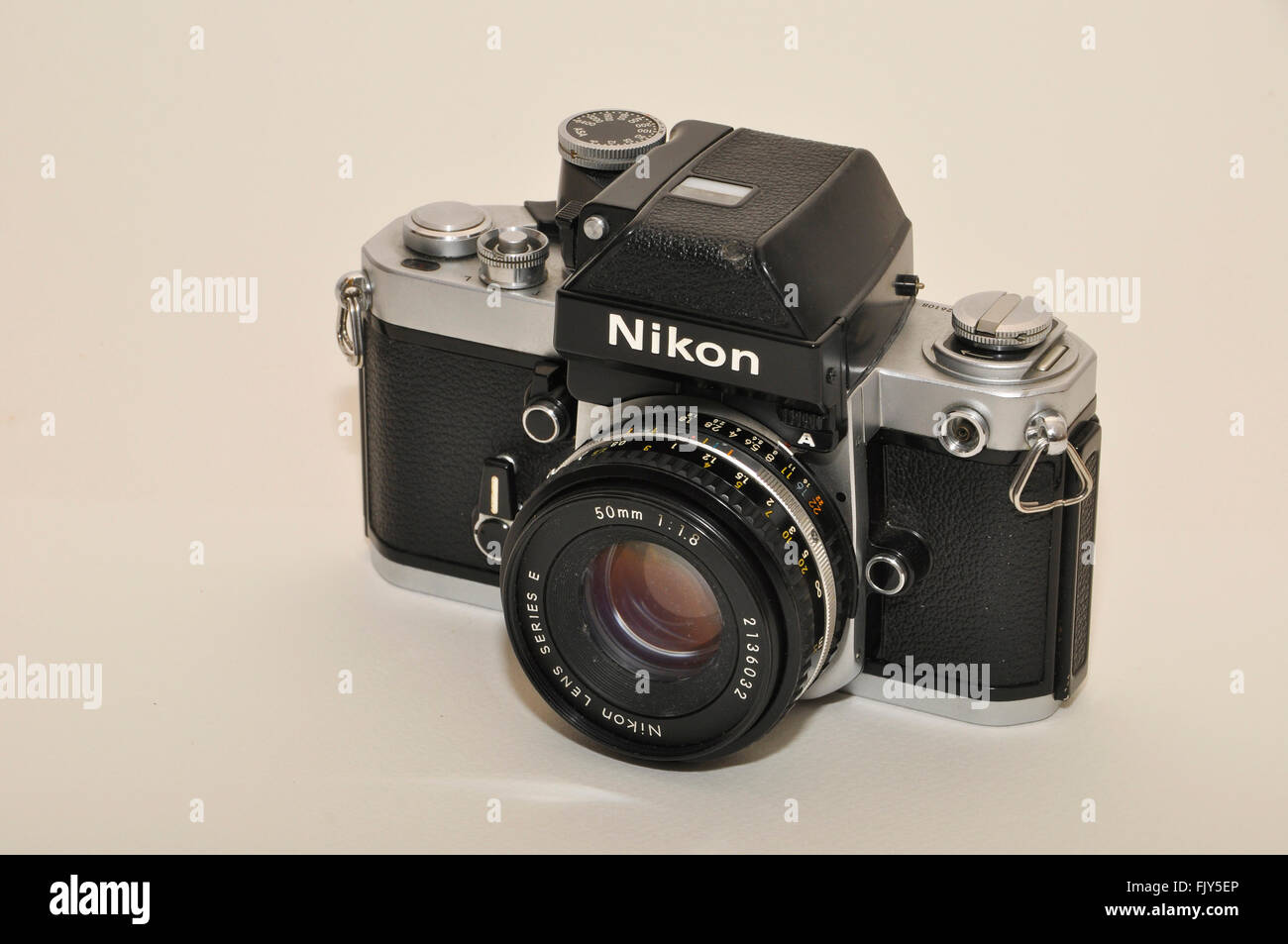 Nikon F2 Photomic A, 35mm, SLR camera 1977-1980 - Stock Image
